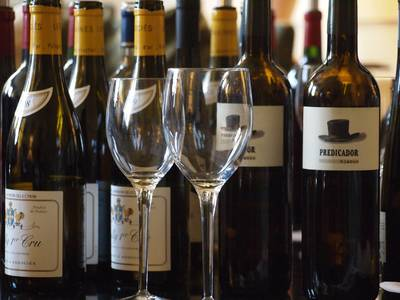 Enjoy a Superlative Collection of Wines